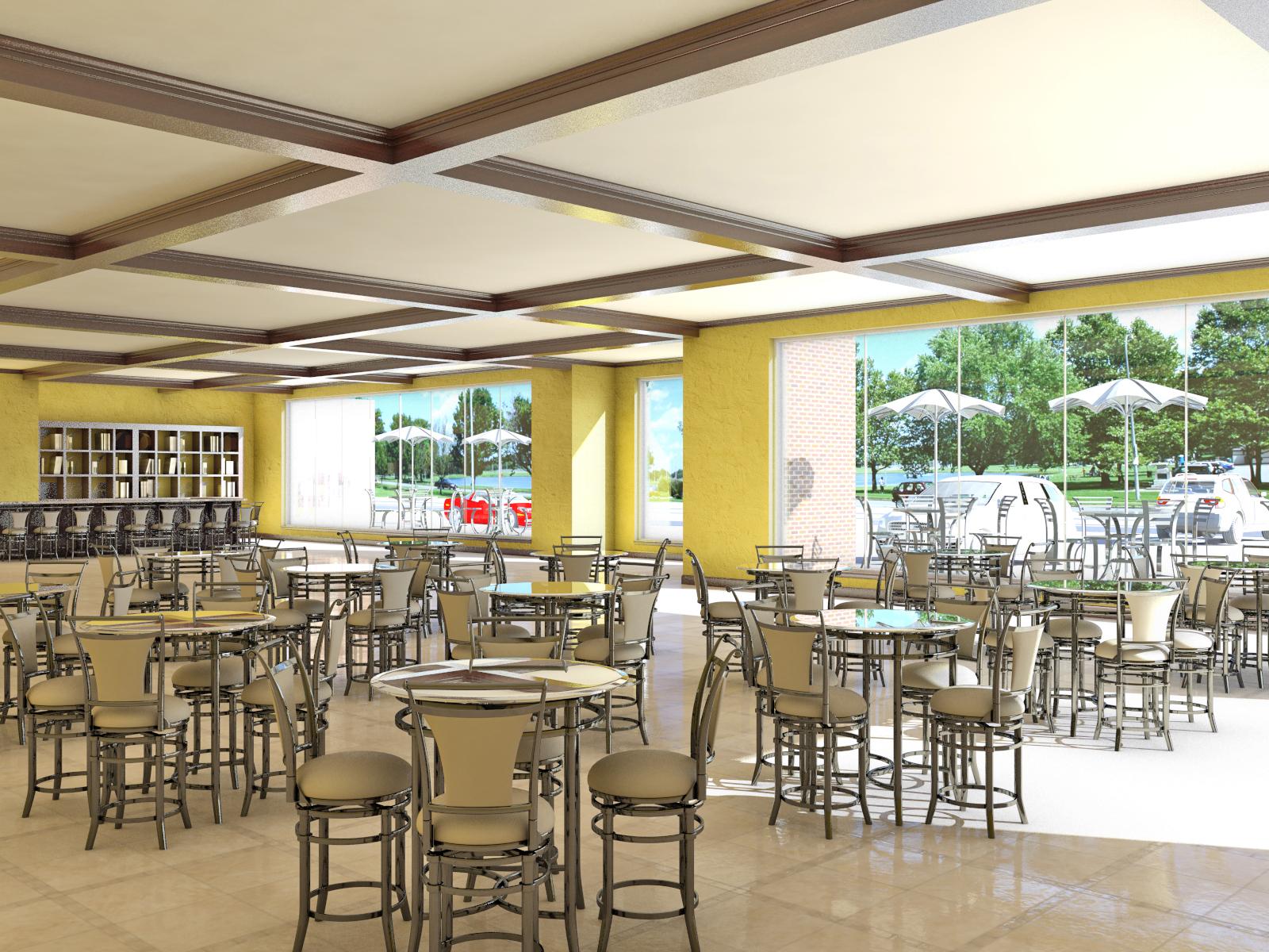Sampel Cafe & Restaurant | Cipta Wijaya Mas, Kontraktor bangunan ...