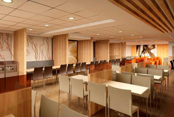 Sampel cafe restaurant cipta wijaya mas kontraktor for Hotel program design