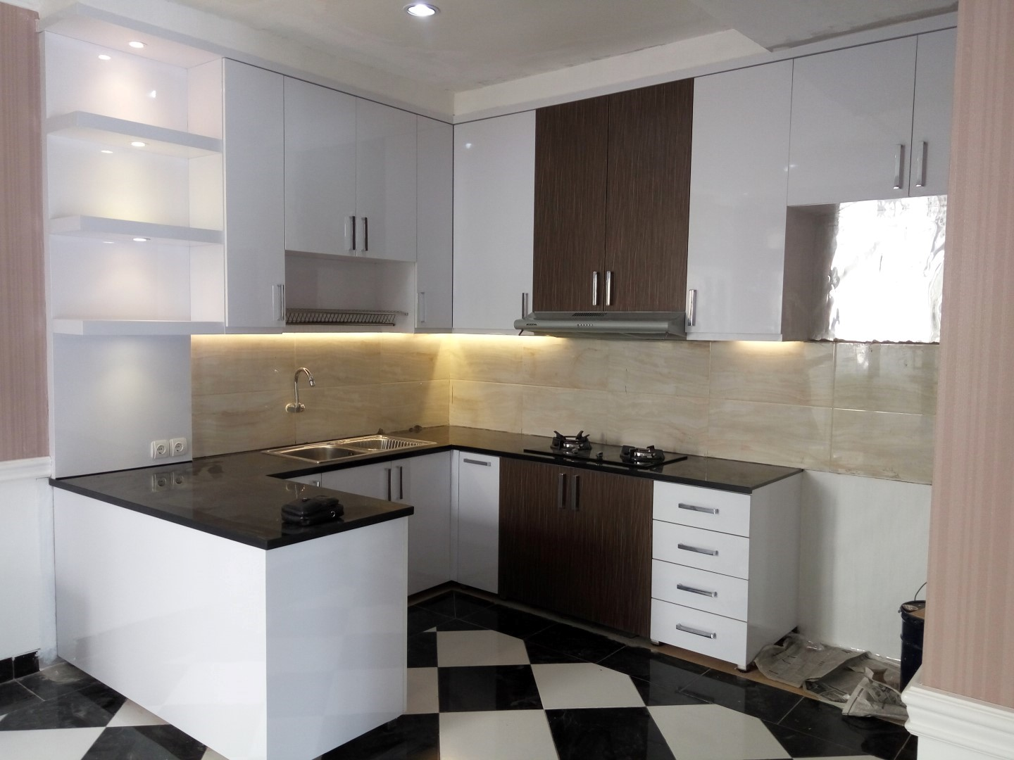 Model Kitchen Set Minimalis Modern Harga Murah Terbaru
